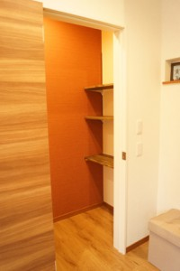 名古屋市緑区 整体院海癒 更衣室