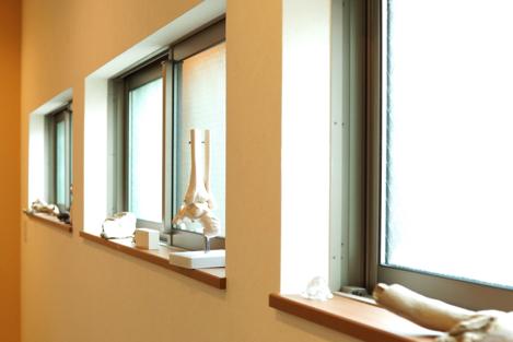 名古屋市緑区 整体院海癒 窓側の様子